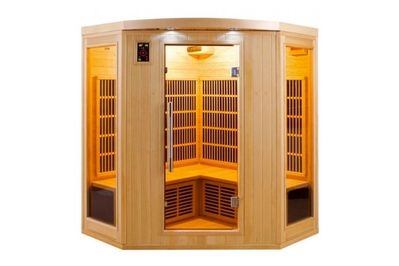 sauna infrarouge 1 place good sauna infrarouge ibiza duo. Black Bedroom Furniture Sets. Home Design Ideas