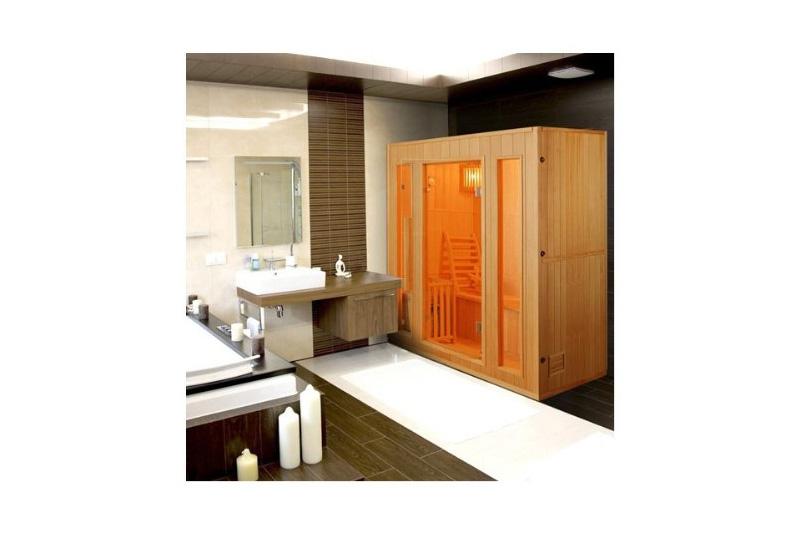 sauna vapeur zen 5 places test