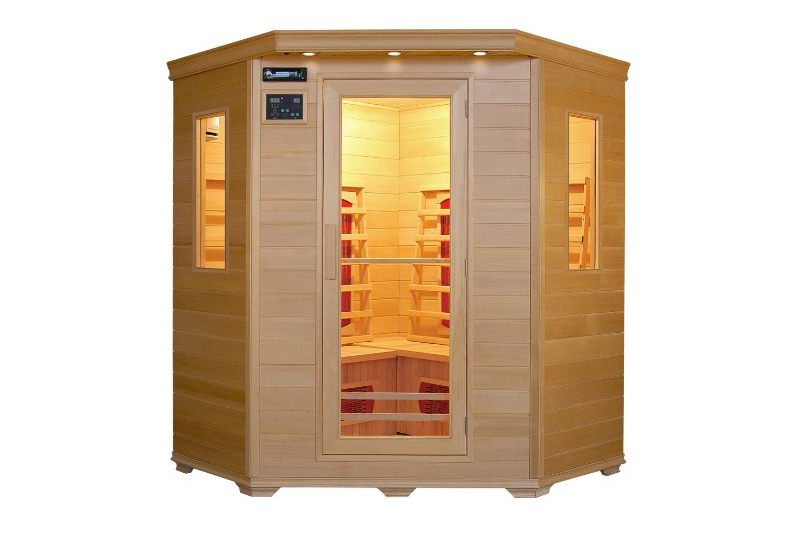 trade line partner sauna d 39 angle 4 personnes test et avis complet. Black Bedroom Furniture Sets. Home Design Ideas