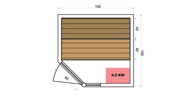 sauna vapeur zen 3 4 places test