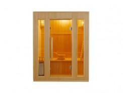 Sauna Vapeur Zen 3 : plongez dans l'ambiance conviviale des saunas traditionnels finlandais